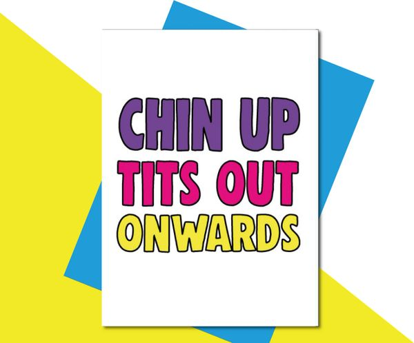 chin up, tits out, onwards TOY05