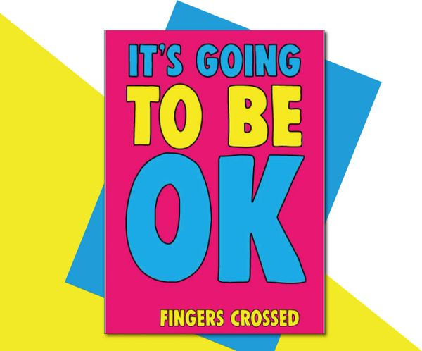 It's gonna be ok - FINGERS CROSSED TOY10
