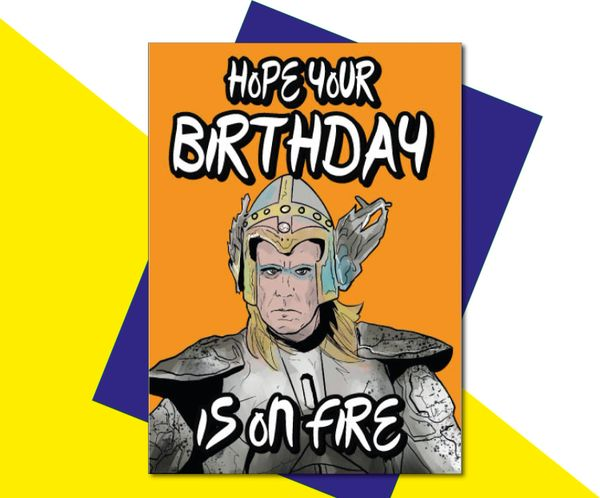 Eurovision Fire Saga - Hope your Birthday is on Fire - IN36