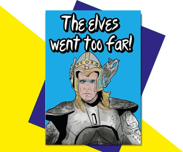 Eurovision Fire Saga Lars Will Farrell - The elves went too far - IN35