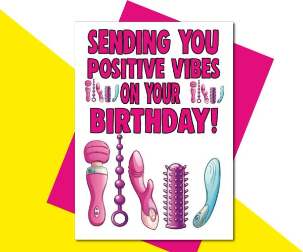 sending you positive vibes on your birthday! - C502