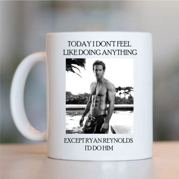 Ryan Reynolds Funny Mugs Novelty Mug - Birthday Office Cup Drink Gifts