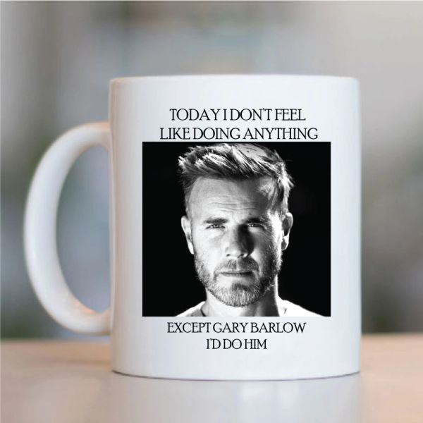 Gary Barlow Funny Mugs Novelty Mug - Birthday Office Cup Drink Gifts