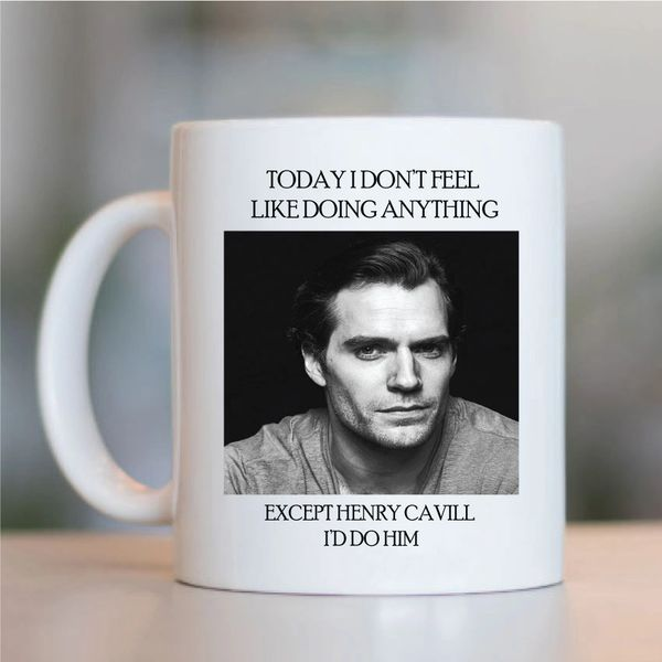 Henry Cavill Funny Mugs Novelty Mug - Birthday Office Cup Drink Gifts