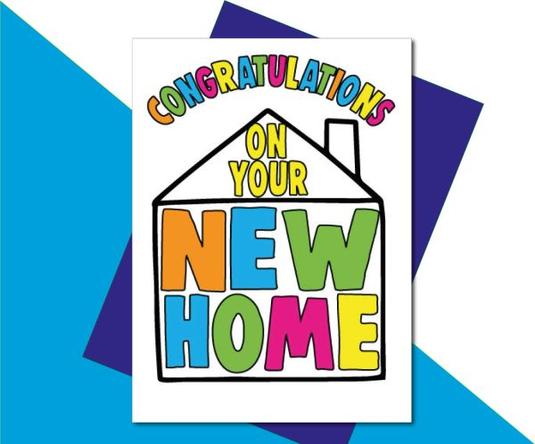 New Home Card - Congratulations on your new home - HOME3