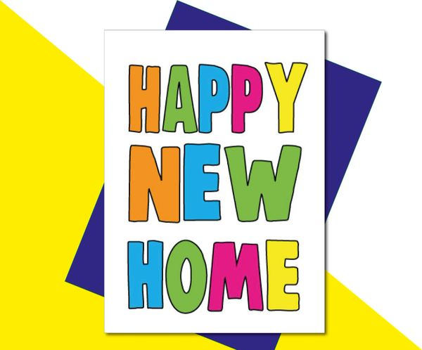 New Home Card - Happy New Home - HOME2