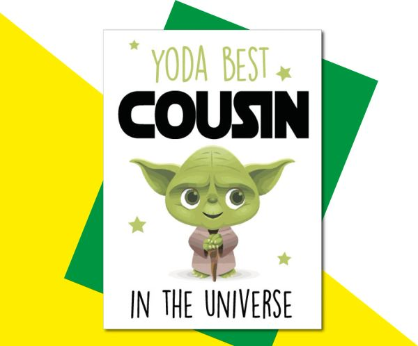 YODA BEST COUSIN- C823
