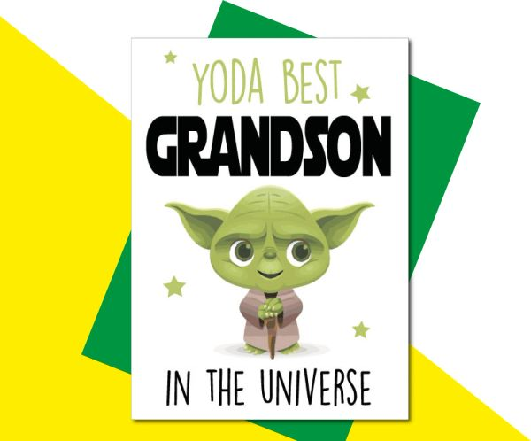 YODA BEST GRANDSON- C824