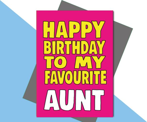 Happy Birthday to my favourite Aunt C666