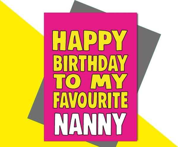 Happy Birthday to my favourite Nanny C669