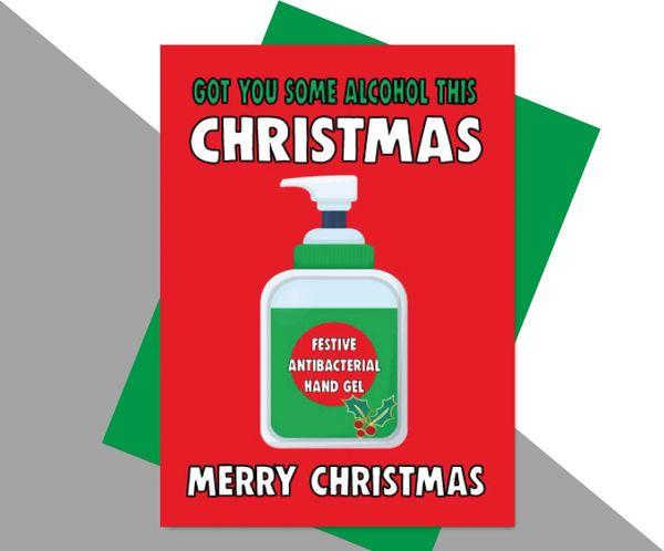 GOT YOU SOME ALCOHOL FOR CHRISTMAS XM169