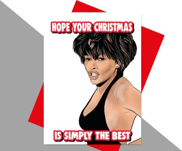 Tina Turner Hope your christmas is simply the best XM181