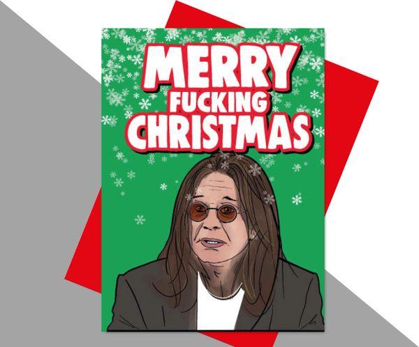 Ozzy Osbourne Merry Fucking Christmas XM185