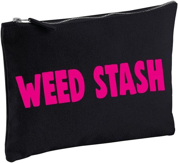 COSMETIC BAG - Weed Stash CB11