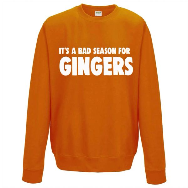 It's a bad season for gingers Christmas Jumper - CJ05