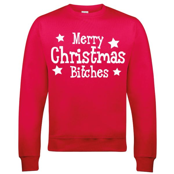 Merry Christmas Bitches Christmas Jumper - CJ10