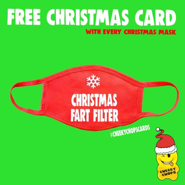 Funny Face Mask- Christmas Fart Filter FM65