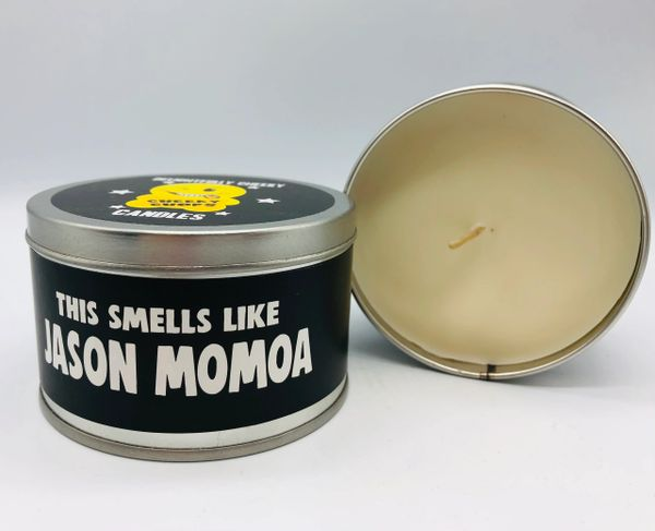 Wanky Candle Tin - Smells like Jason Momoa