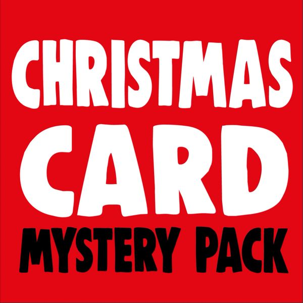 Christmas Cards Mystery Pack -10 cards for £4.00