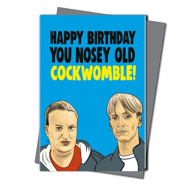 Kerry and Kurtan This Country Birthday Card - Cockwomble IN52