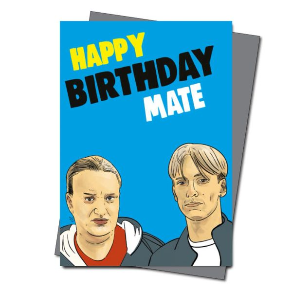 Kerry and Kurtan This Country Birthday Card - Happy Birthday Mate IN51