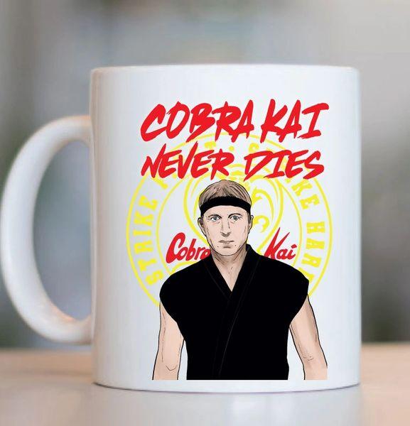 Cobra Kai Strike Netflix Johnny Lawrence Cobra Kai Never Dies Gift Mug MUG744