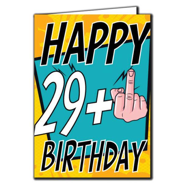 29+ 29 30 Birthday Age Relation Male Female Birthday Card AGE23