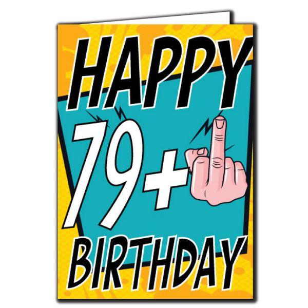 79+ 79 80 Birthday Age Relation Male Female Birthday Card AGE28