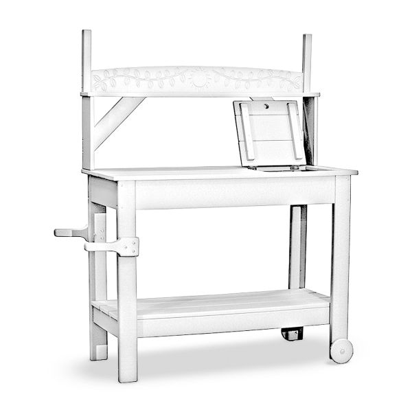 Portable Potting Bench By The Yard Florida
