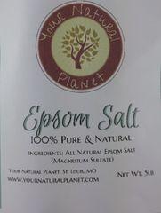 Epsom Salt 5lbs - Magnesium Sulfate Bath Salt-Model-EPS-5