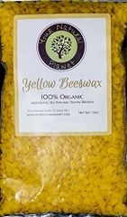 Yellow Organic Beeswax 14oz-Model-YOB-14