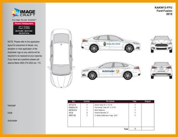 Ford Fusion 2015-2017 - Autotrader/KBB - A La Carte