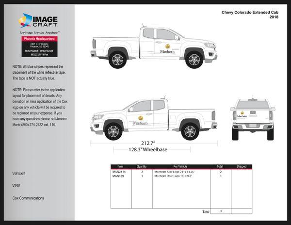 Chevy Colorado, Extended Cab, 2018 - Manheim - A La Carte