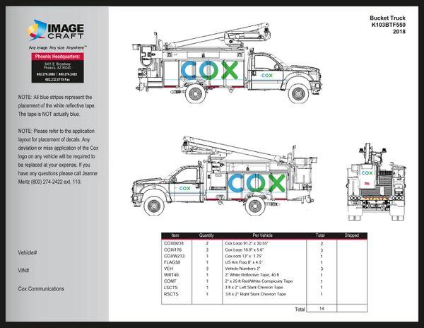 Bucket Truck - Altec (K103-BT-Altec) - Complete Kit