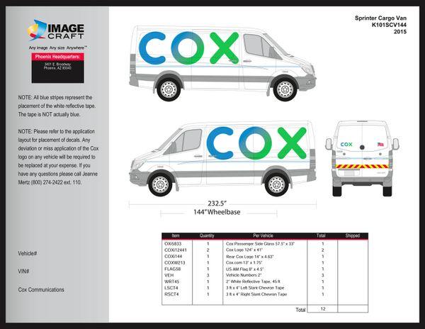 Sprinter Cargo Van (144 WB) 2012-2015 - A la Carte