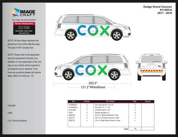 Dodge Grand Caravan - 2017-2018 - Complete Kit