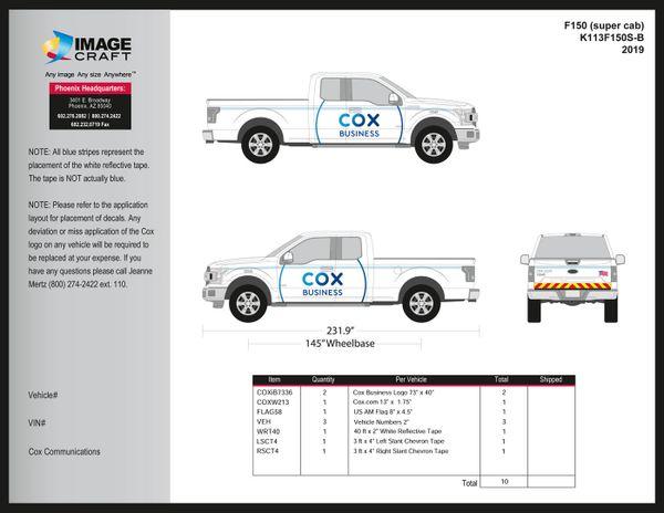 Ford F150 Super Cab - 2019 - Complete Kit