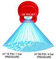 XR11001VS-XR11015VS -Stainless Steel VisiFlo Extended range flat spray tip