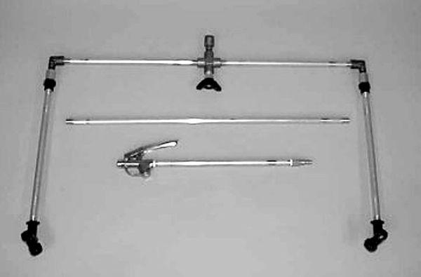 6011 -1 row boom with drop nozzles