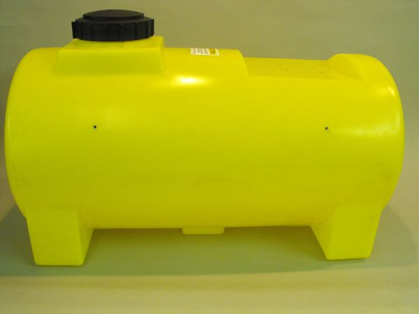 55G -55 gallon round yellow tank