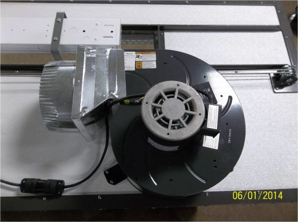SB-MEF -Roof mounted exhaust fan for Spray Booth