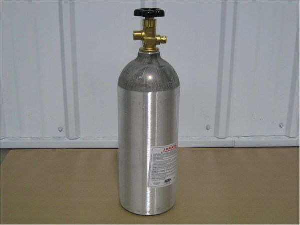 SB-CO2C -5LB Co2 aluminum cylinder for Spray Booth