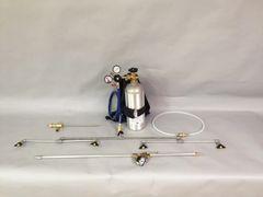 Model D-201S -Backpack sprayer w/ 2 liter bottle header