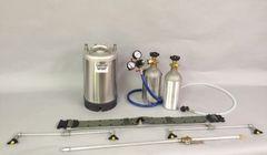 Model BB -Beverage sprayer unit w/ 3 gallon spray can