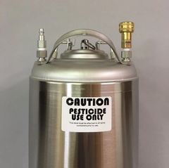10715-BG -15gallon spray can with industrial connections