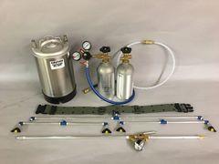 MODEL BBM- 4 nozzle spray unit w/ 3 gallon spray can