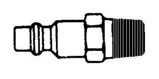 """214MN-B Series 2 1/4"""" npt Nipple -brass"""