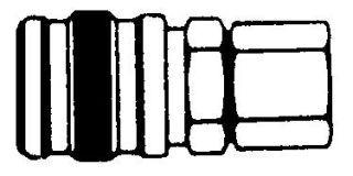 "218FB - Series 2 Manual Coupler Body 1/8"" NPT (F)"