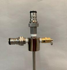201S0-BS - 28mm spray header beverage disconnects