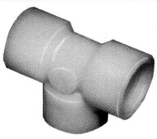 "917N-2D -Nylon 1/4"" NPT (F) Tee"